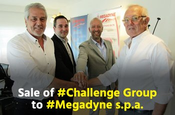 TheNonExec, Boutique M&A, sale of Challenge Group to Megadyne