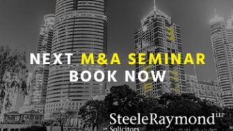 TheNonExec, Boutique M&A, next M&A Seminar with Steele Raymond 14 NOV 2018