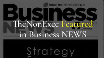 TheNonExec featured in Business NEWS 01 FEB 2019