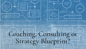 Coaching, Consulting or Strategy Blueprint?
